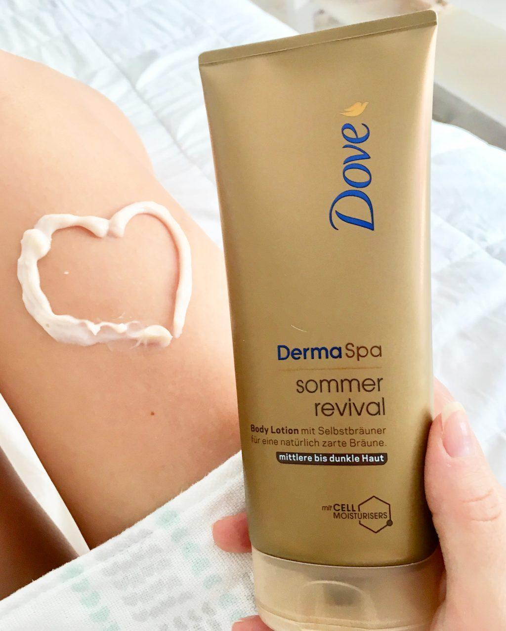 Dove Derma Spa sommer revival